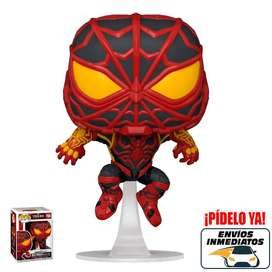 Funko Pop Marvel Spiderman traje Strike