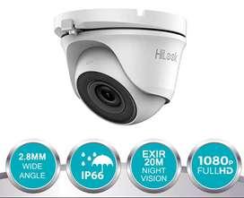 Combo 3 cámaras de Seguridad HiLook modelo THC -T120P