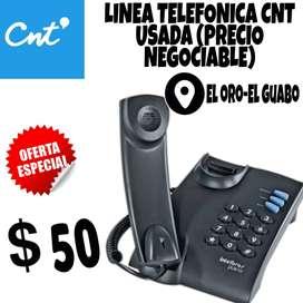 ¡OFERTA! LINEA TELEFONICA CNT, EL GUABO