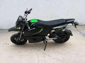 Moto Electrica Negra