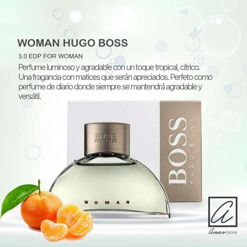 PERFUME WOMAN HUGO BOSS 90 ml. para damas 0