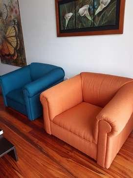 Sala de 3 Sofas