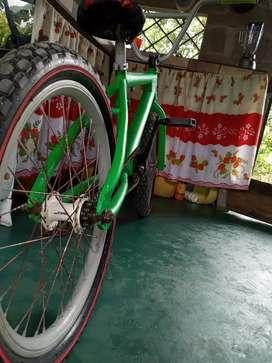 Bicicleta de salto bmx