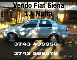 Fiat siena 1.4 mafta y Gnc
