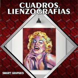CUADROS LIENZOS LIENZOGRAFIAS CANVAS PINTURAS FOTOGRAFIA RETOQUE PHOTOSHOP PUBLICIDAD PALMIRA CALI SMART GRAPHICS