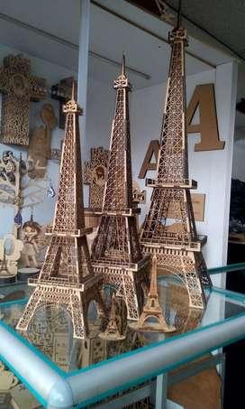 Torre Eiffel en MDF