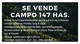 Campo en Chaco