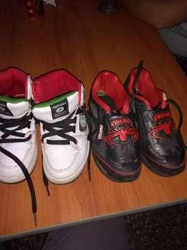 Zapatillas para chicos número 30