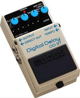 Pedal Boss DD-3T Guitarra Electrica Digital Delay Music Box