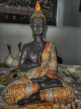 Buda en cerámica decoración