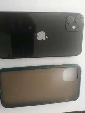 Se vende iphone 11 de 64 gb color negro