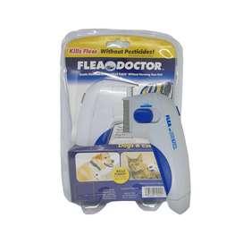 Peine quita pulgas eléctrico