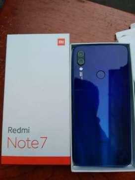 Xiaomi redmi note 7  IMEI original con caja y cargador 9/10