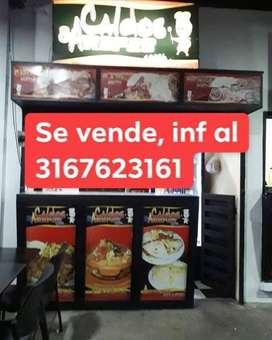Se vende Negocio de comidas caldos y arepas se encuentra ubicado en el coliseo cubierto de Ocaña