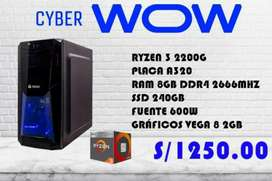 Estas buscando una PC nueva? Que rinda y puedas jugar ?