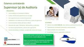 SUPERVISOR DE AUDITORIA