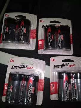 Pilas D x 2 Energizer