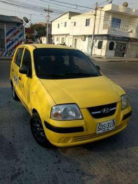 Ganga. Vendo taxi Hyundai Atos. Excelente estado, trabajando. No debe impuestos ni comparendos, listo para traspaso.
