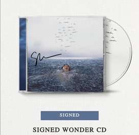Vendo CD Shawn Mendes Wonder autografiado