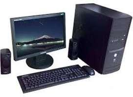 COMPUTADORA CORE 2 DUO 3.1GHZ-2GB/RAM//HD 160GB //MULTI DVD//MONITOR 17 // TECLADO y MOUSE-OBSEQUIO WIFI CEL97187606O **