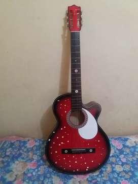 Guitarra de madera