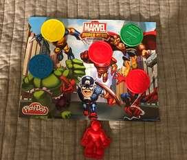 Play Doh Superheroes