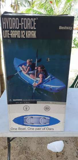 Vendo kayak inflable 270$ con remo