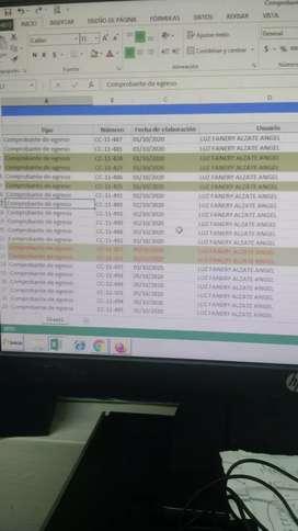 Monitor LCD de 14