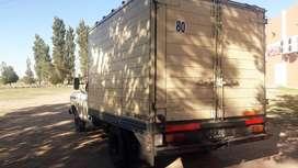 ford 350 con furgon termino y equipo de frio