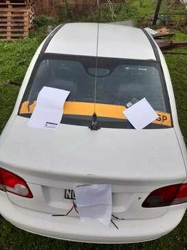 Vendo licencia de remis rural zona norte y Chevrolet corsa