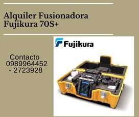 Alquiler fusionadora fujikura 70s +
