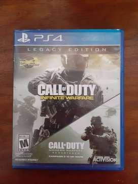 Call of Duty Infinite Warfare Ps4 Fisico usado