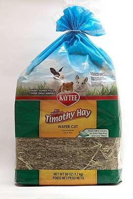 Heno importado Timothy para conejos y cobayas.