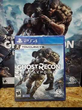 Juego play 4 ps4 GHOST RECON  BREAKPOINT TOM CLACY'S