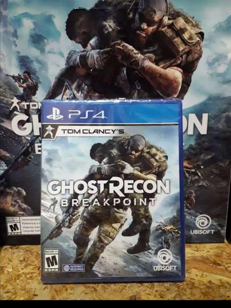 Juego play 4 ps4 GHOST RECON  BREAKPOINT TOM CLACY'S 0