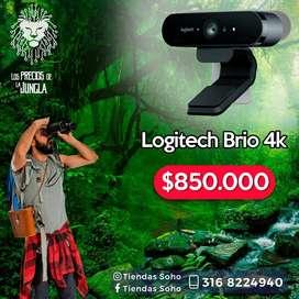 Camara logitech brio 4k