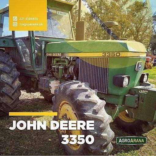 SE VENDE JOHN DEERE 3350 0