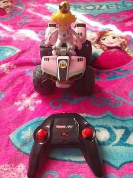 Princesa Peach y moto