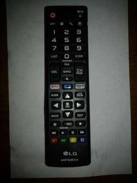 Control remoto Televisor LG led