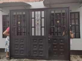 Portón para garaje nuevo