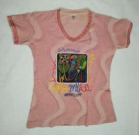 Camiseta mujer, Talla L, identidad nacional.
