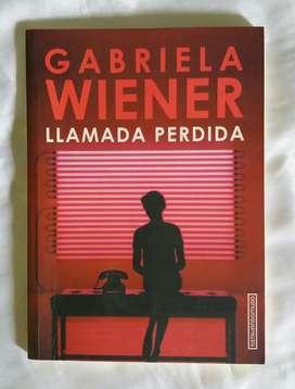 Llamada Perdida Gabriela Wiener
