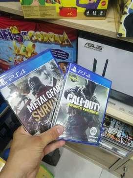 Call of Duty & Metal Gear ps4 nuevos
