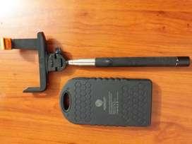 Kit palo de selfie con cargador portátil