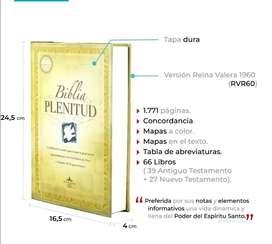 Biblia de estudio Rv60 Plenitud