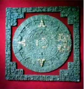 Calendario maya en onix