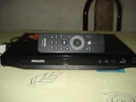 Reproductor De Dvd Philips Dvp 3650k Con Usb Y Ctrl Rem Orig