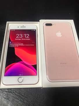 Vendo iphone 7 plus de 128 Gold rose