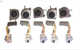 Ventilador disipador refrigeración interna + tubo cobre conduccion disipador termico Nintendo switch x5