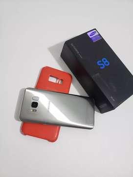 Samsung Galaxy s8 64 GB cromado con todo